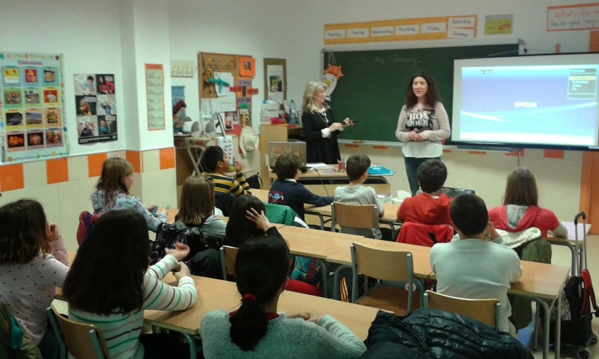 Albacete school visits - galgo education