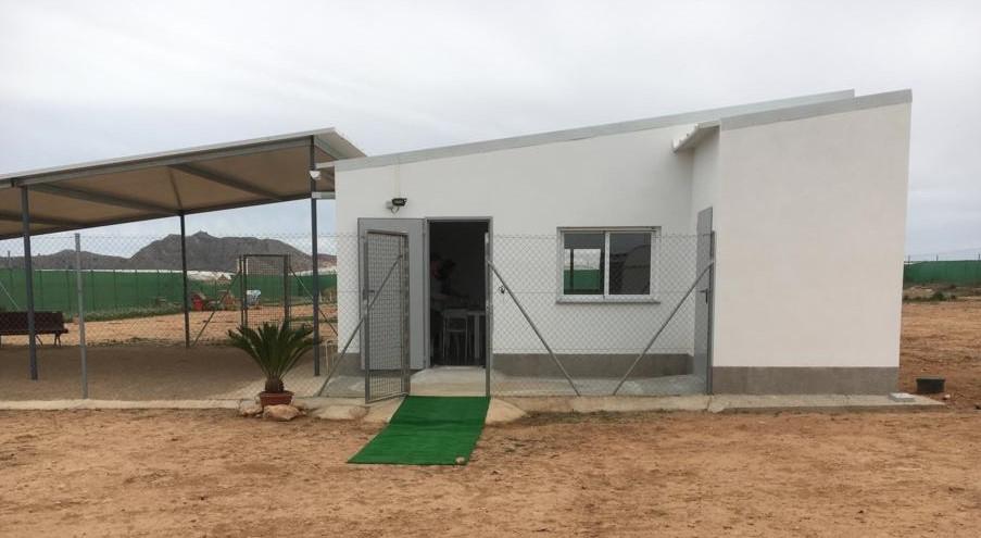 Galgos del Sol education building opening