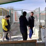 elementary school visit Arca de Noe in Albacete, Diocesano.