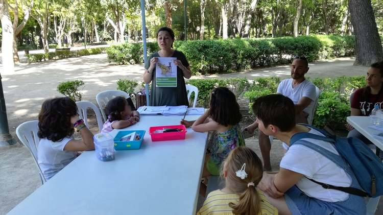 Albacete Vegan Fair - galgo activities