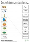 Matching-Activity Spanish