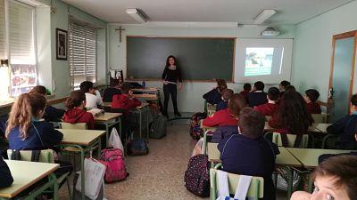 Dominicas school Albacete - galgo education