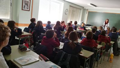Dominicas school Albacete - galgo education