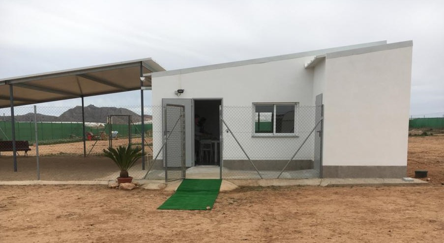 Galgos del Sol education building opening