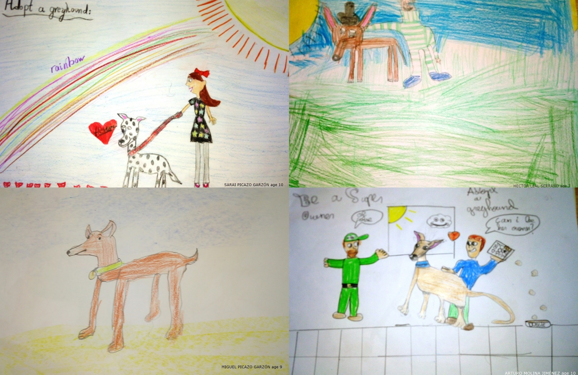 May galgo poster competition entries