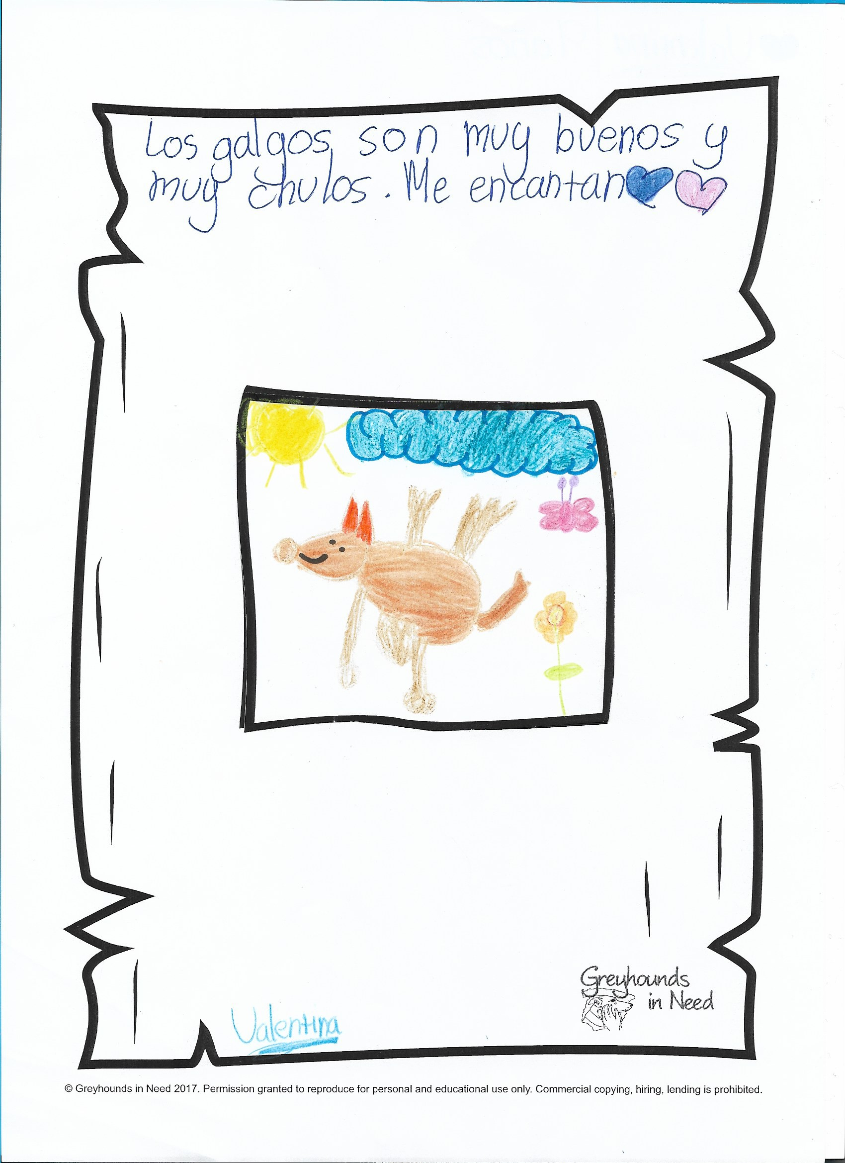 VALENTINA age 9