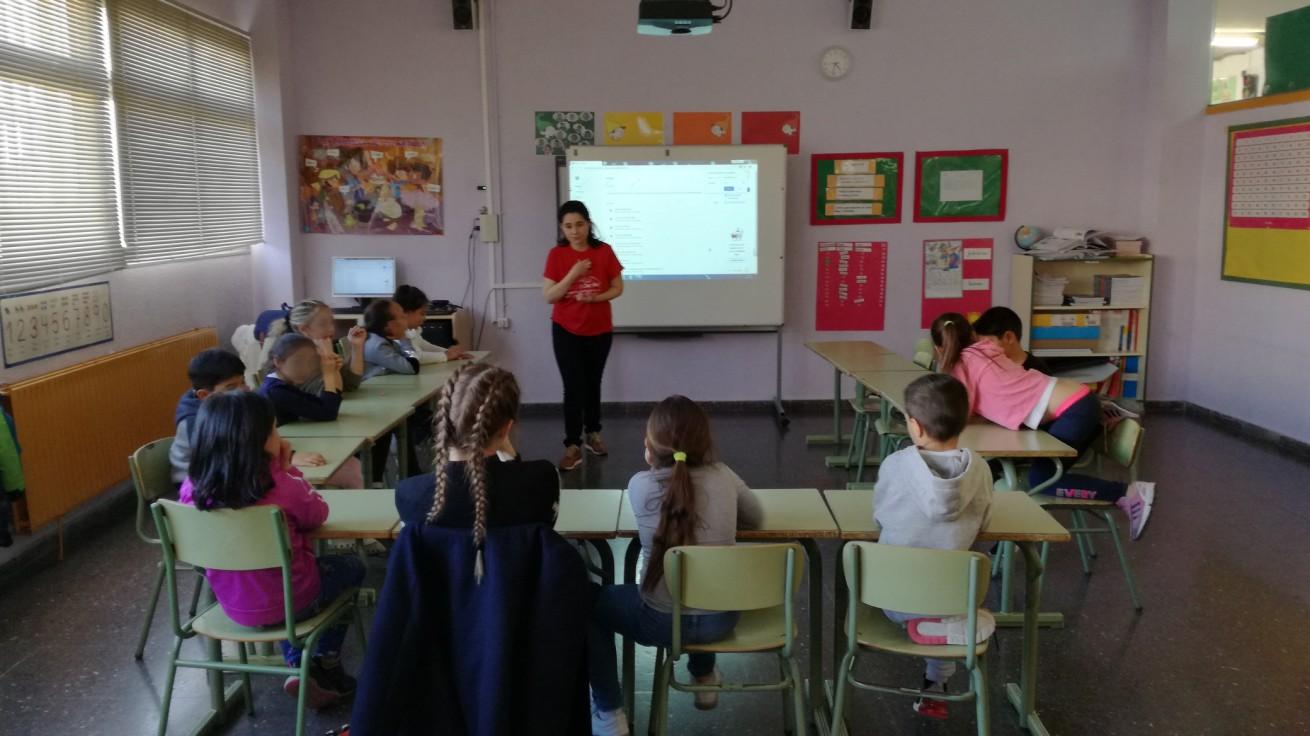 Visit to La Paz school