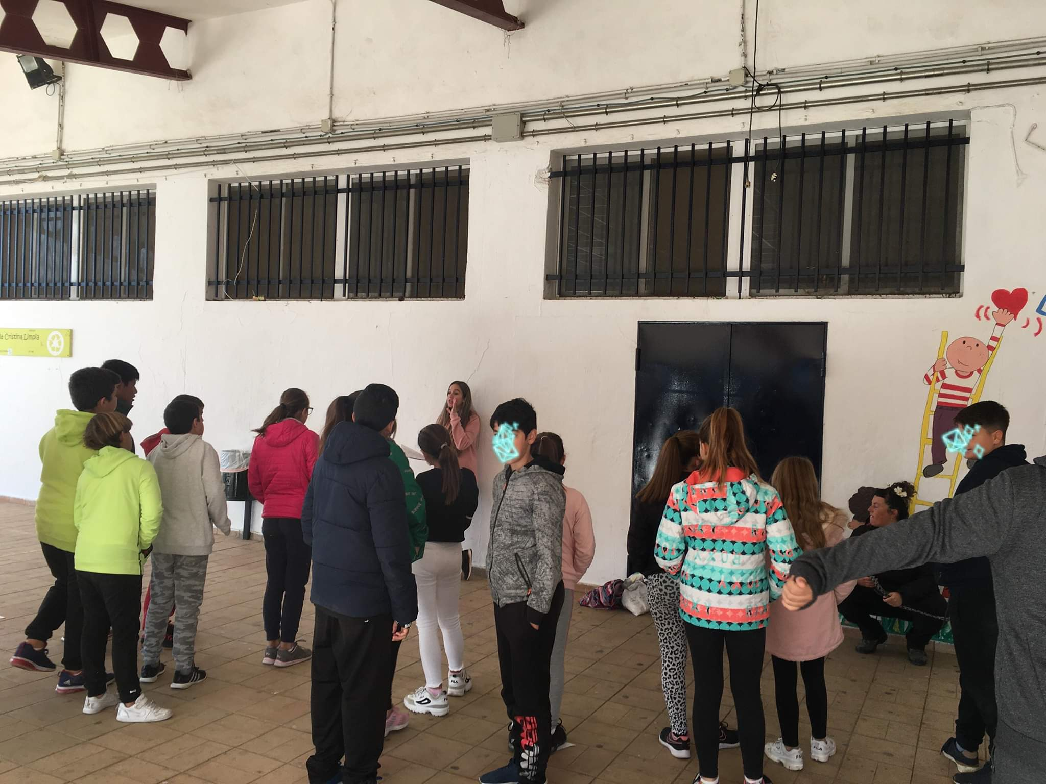 School visits by APAPA in Ayamonte
