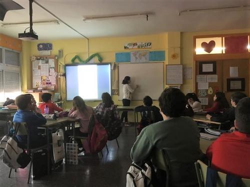 Jisseth in class